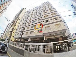 Praia Grande: TOP- Vista Mar, Apartamento 2 Dormitorios, Elevador, Portaria- 180 mil - Financia 1