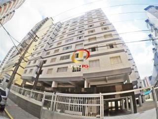 Praia Grande: TOP- Vista Mar, Apartamento 2 Dormitorios, Elevador, Portaria- 180 mil - Financia 17