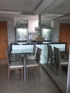 Apartamento para venda em Jardim Camburi ES, 2 quartos, suíte, 65m2, Sol da manhã, armários embutidos, 2 vagas de garagem