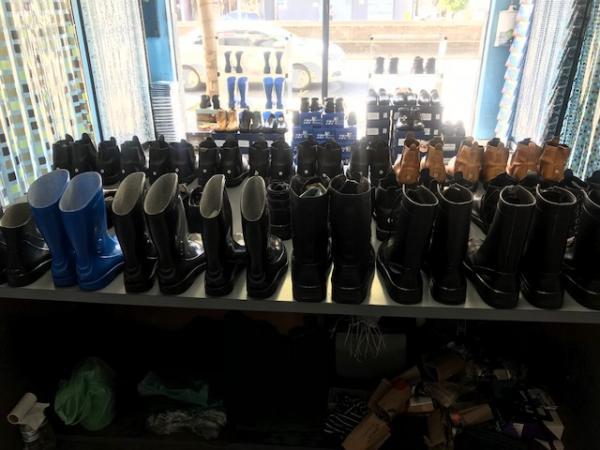 Santo André: Loja de Calçados e Botas de Segurança no Centro de Santo André. 2