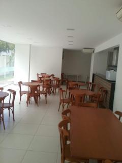 Vitória: Apartamento para venda em Jardim Camburi ES, 3 quartos, suíte, 78m2, Sol da manhã, frente, varanda, armários embutidos, 1 vaga de garagem, salão de festas 15