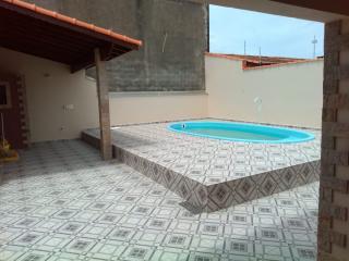 Itanhaém: Linda casa em Itanhaém, em lote inteiro, com piscina, churrasqueira e fogão a lenha !!! 22