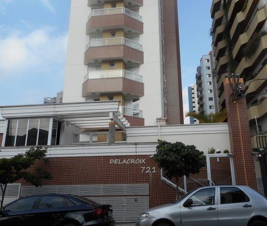 Santo André: Excelente Apartamento 3 Suítes 127 m² na Vila Bastos - Santo André. Condomínio Delacroix.  1