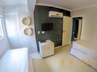 Balneário Camboriú:  Prédio Super Ventilado Apartamento Com 1 Suíte 6