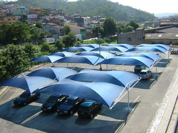 Santo André: Estacionamento Seco e Parcialmente Coberto 690 m² na Região da Av. Paulista - São Paulo. 1