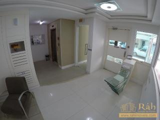 Balneário Camboriú: Apartamento 1 suíte + 1 dormitório com 1 vaga privativa - Ampla sacada com churrasqueira. 1