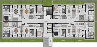 Criciúma: Residencial Torres de Santelmo 11
