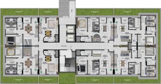 Criciúma: Residencial Torres de Santelmo 6