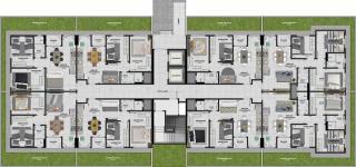 Criciúma: Residencial Torres de Santelmo 9