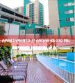 Barra Velha: Apartamento mobiliado 3º andar 100 metros da praia