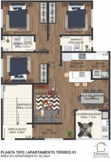 Barra Velha: Apartamento novo com 3 quartos no centro de Piçarras, aceita entrada e financiamento bancário 16