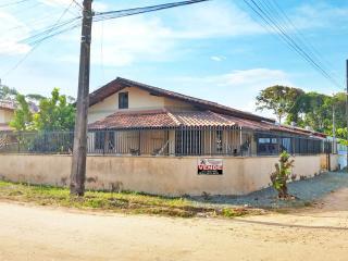 Barra Velha: Casa com 3 quartos, sendo 1 suíte 550 metros do mar e com documentação pronta para financiar pelo banco 1
