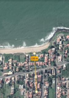 Barra Velha: Casa com 2 quartos, rua calçada e 220 metros do mar 21