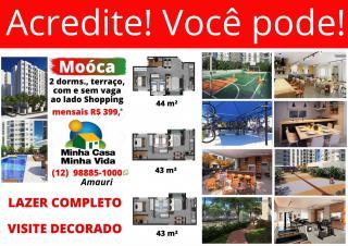 São Paulo: Apartamento 2 dorms., terraço e vaga - Moóca 1