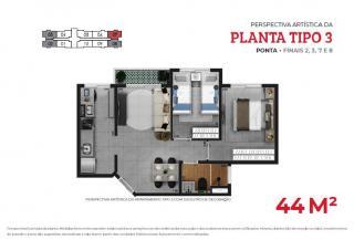 São Paulo: Apartamento 2 dorms., terraço e vaga - Moóca 4