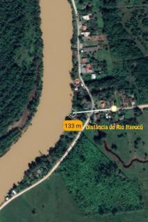 Barra Velha: Chácara com 2500m² com pomar, árvores frutíferas, área verde de pastagem com mais uma casa de 3 quartos 16
