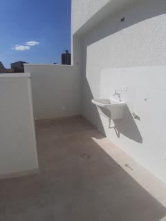 Santo André: Cobertura Sem Condomínio 84 m² em Santo André - Vila Guiomar.  R$ 290.000,00 3