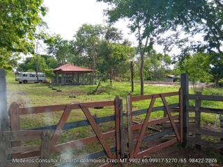 Cuiabá: VENDO!!! Uma chácara de esquina  medindo 17.500 M²  (70 X 250) na região do parque do formigueiro na cidade de Várzea Grande MT 3