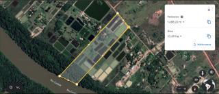 Cuiabá: VENDO!!! Uma chácara na beira do rio Cuiabá de 9 hectares na região do bandeira na estrada velha da Guia fica 12 km da AMBEV 2