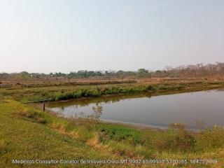 Cuiabá: VENDO!!! Uma chácara na beira do rio Cuiabá de 9 hectares na região do bandeira na estrada velha da Guia fica 12 km da AMBEV 24