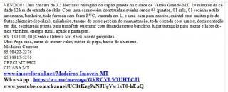 Cuiabá: VENDO!!! Uma chácara de 3.5 Hectares na região do capão grande na cidade de Várzea Grande-MT 18