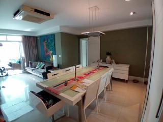 Vitória: Apartamento para venda em Enseada do Suá, Vitória ES, 3 quartos, 2 suítes, 130m2, Sol da manhã, varanda, dependência de empregada, elevador, piscina, salão de festas,  4 vagas de garagem 1