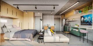Niterói: Apartamento para Venda, São Paulo / SP, bairro Centro, 1 dormitório, 1 suíte, 1 banheiro, área construída 16,00 m² AMA2500 10