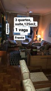 Vitória: Apartamento para venda em Bento Ferreira, Vitória ES, 3 quartos, suíte, 125m2, frente, armários embutidos, 1 vaga de garagem coberta 1