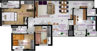 Botucatu: Apartamento novo e pronto para morar, no Centro de Botucatu 2