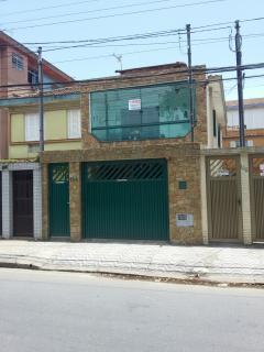 Santos: SOBRADO, CANAL 4 SANTOS, LITORAL 3 DORM SUITE E CLOSED E GARAGEM 1