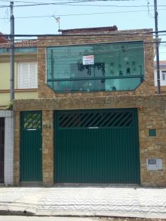 Santos: SOBRADO, CANAL 4 SANTOS, LITORAL 3 DORM SUITE E CLOSED E GARAGEM 7