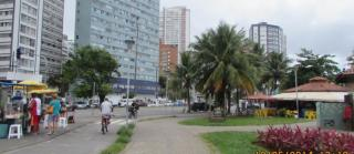 São Vicente: Feriado na Praia