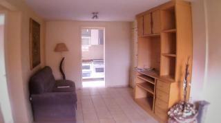S. J. dos Pinhais: apartamento semi mobiliado com garden 2 quartos 3