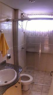 S. J. dos Pinhais: apartamento semi mobiliado com garden 2 quartos 5