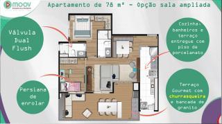 São Paulo: Apartamento 2 e 3 dormitórios à 400mts da estação Vila Prudente 6