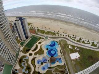 Praia Grande: APTO DE 2 DORMITÓRIOS DE FRENTE PARA O MAR