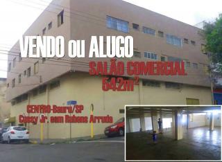 Bauru: Aluguel Salão Comercial 1
