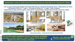 Campinas: Apartamento a Venda na planta em vários Bairros Campinas e região 3