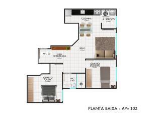 Vila Velha: Apartamentos : - Escriturado - Melhor preço por M2 da região!! 5