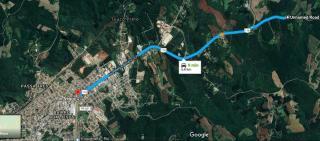 Rio Negro: Chácara a 800 metros da R. Bittencourt (BR-116). 7