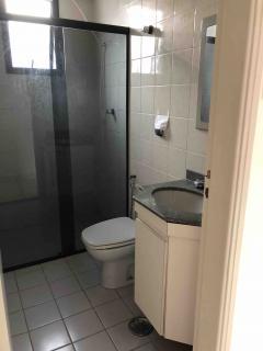 Santos: Apartamento em Santos, 1 quarto, 2 banheiros, Sacada e Garagem 4