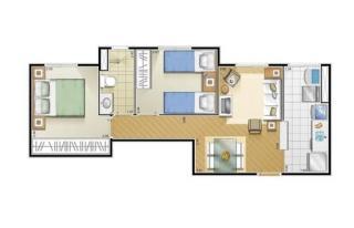 São Paulo: Apartamento 2 dormitórios 4