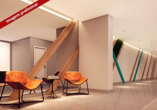 Guarulhos: Apartamento de 47m² ou 56m² 2 dorm, 1 vaga c/ terraço na Vila Rosalia 1