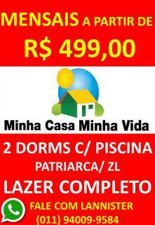 São Paulo: Apto 2 Dorms C/ Piscina 1