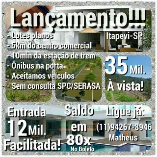 São Paulo: Lotes em Itapevi 1