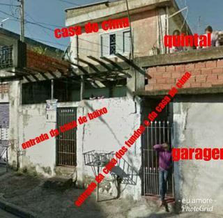 São Paulo: Vende-se um terreno com 3 casas construídas e garagem Escritura Registrada IPTU isento 2
