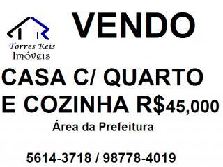 São Paulo: Vendo casa com quarto e cozinha/prefeitura 1