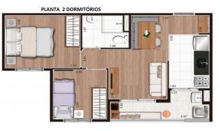 São Paulo: Lançamento App V.Prudente 2 dormitórios, varanda gourmet, vaga de automóvel 7