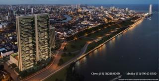 Recife: Apto 4 suítes, 4 vagas, 269m², em São José - Mirante do Cais 7