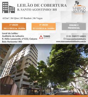Belo Horizonte: Leilão de Cobertura no Sato Agostinho em BH (50% da avaliação) 1